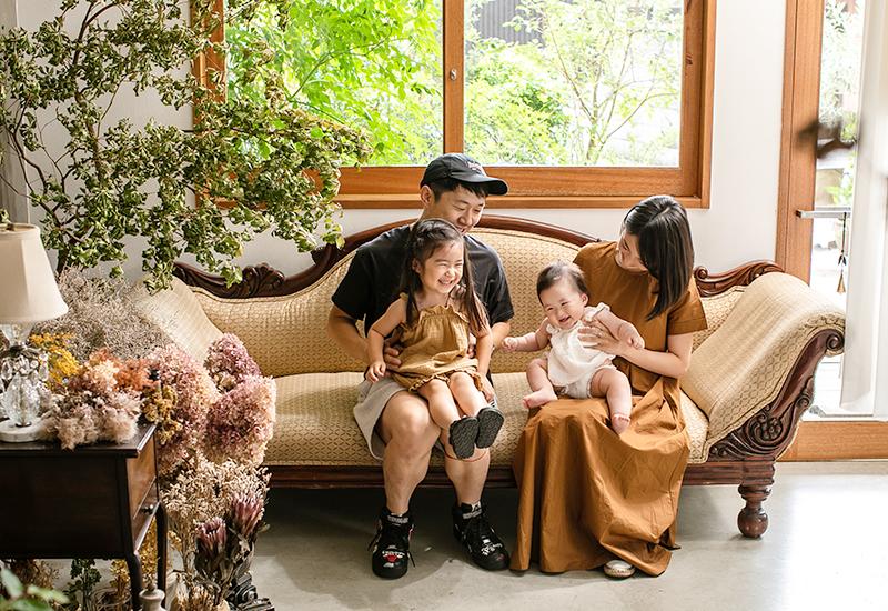 サニーズラボ 家族写真